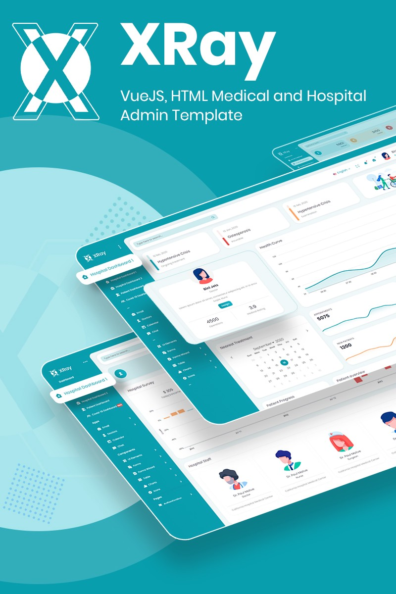 VueJS, HTML Medical and Hospital Admin Template | XRay | Iqonic Design  10 Winning Bootstrap Admin Dashboard At Snap Of Your Finger! 1 Zfra  XlGk6iczdkZFpGAw
