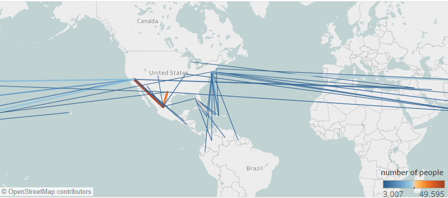 Creating US Immigration Path Map in Tableau with R - Towards ... on displaying maps, making maps, moving maps, thinking maps, viewing maps, types of maps, designing maps, using maps, listening maps, interpreting maps, connecting maps, networking maps, analyzing maps, teaching maps, working with maps,