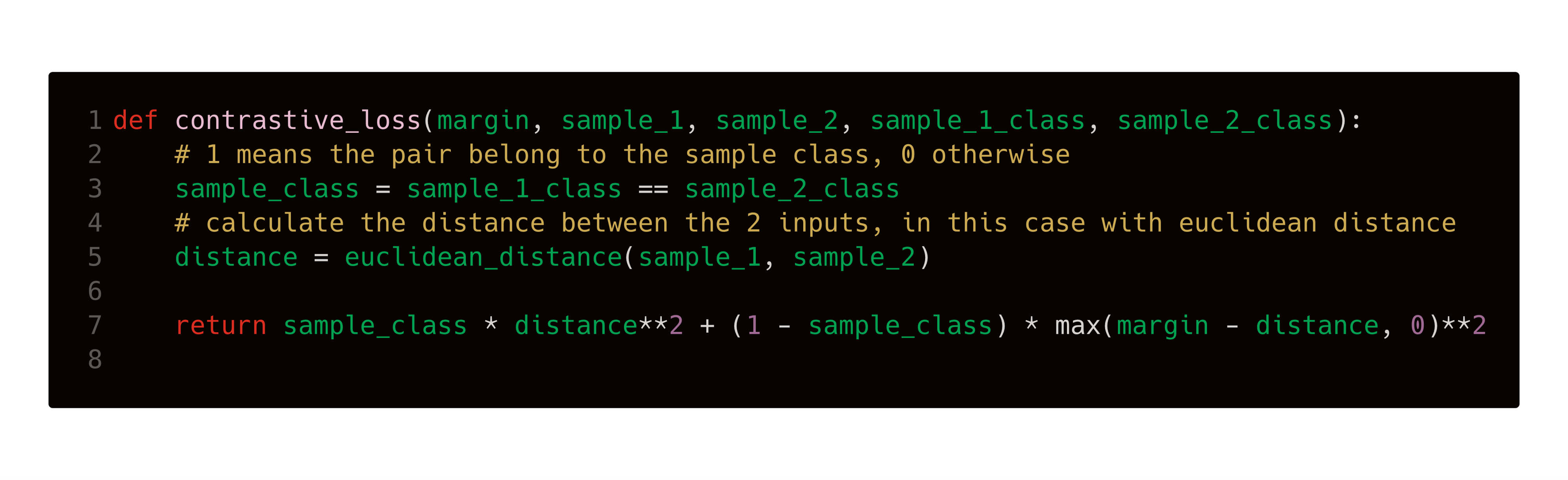 Training a Speaker Embedding from Scratch with Triplet Learning