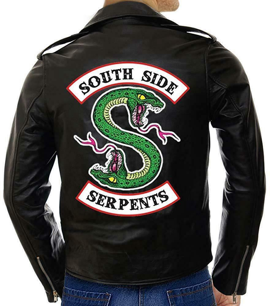 clearance prices fashion design brand quality Southside Serpents Leather Jacket From Ebay - Serena Connell ...