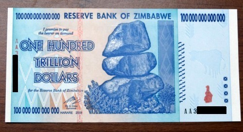 Tale Of Hundred Trillion Dollar Note