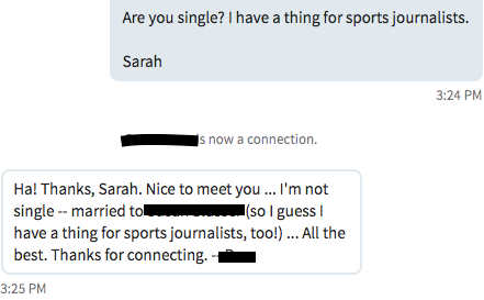 I Used LinkedIn as a Dating Site, and It Worked Better Than Real