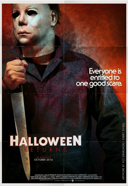 Beauty That Never Took Shape The Best Of Halloween Returns Fan Posters By Mike Holtz Medium