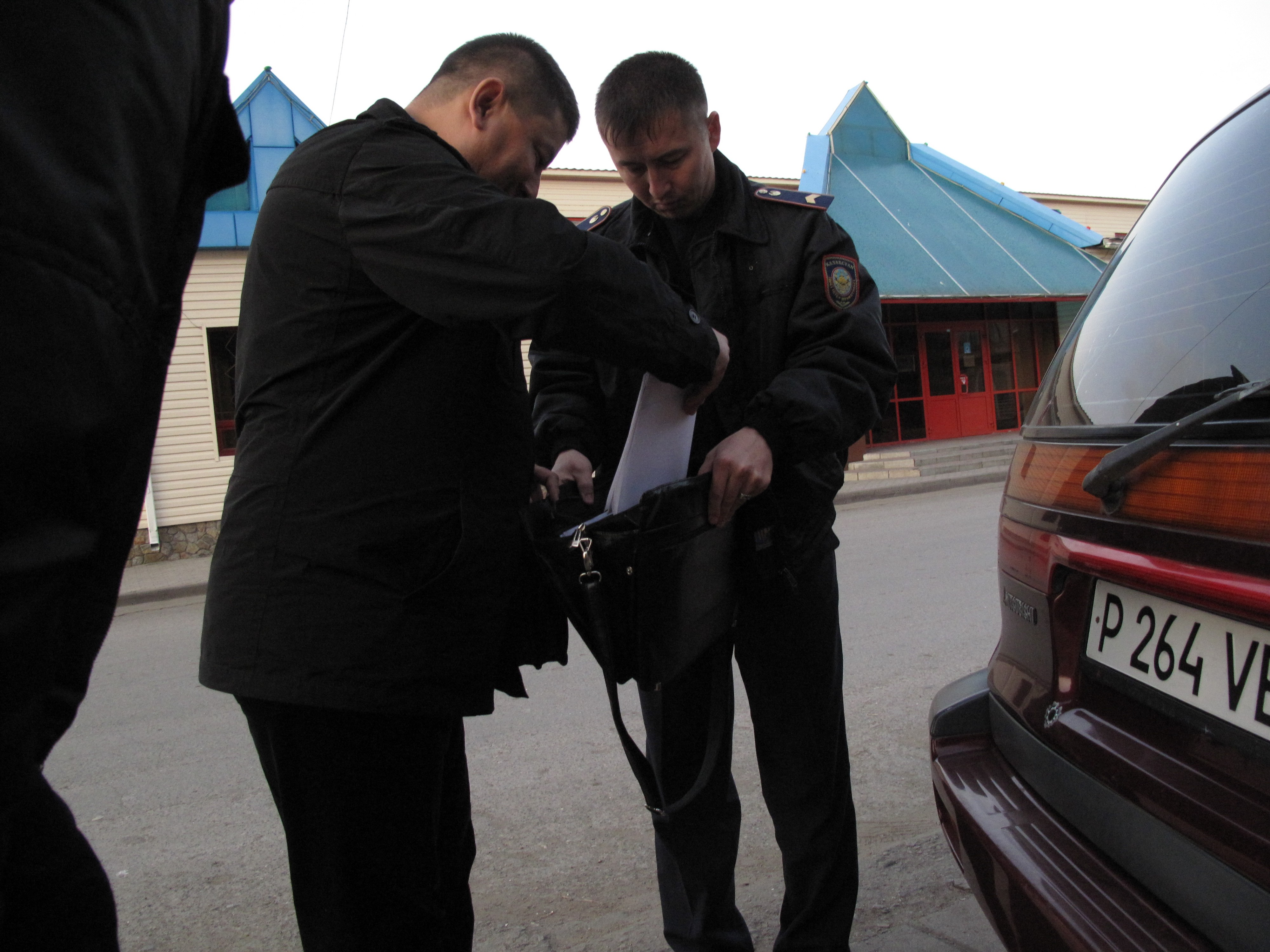 I got arrested in Kazakhstan and represented myself in court
