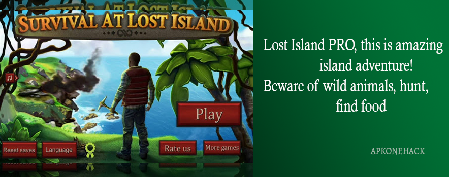 Survival Game: Lost Island PRO Apk + MOD [Unlimited Coins