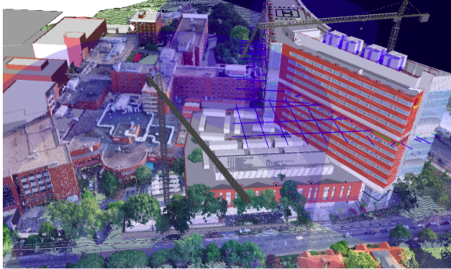 How to Leverage Drone-Generated Point Clouds in BIM Software