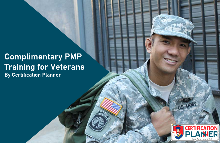 Complimentary Pmp Training For Veterans By Certification Planner