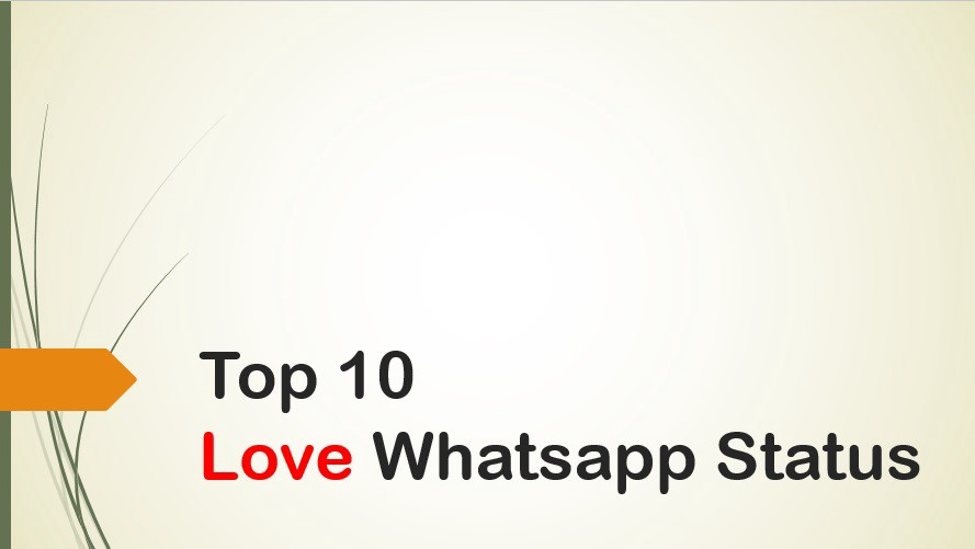 Top 10 Love Whatsapp Status | Status collection | Youtube