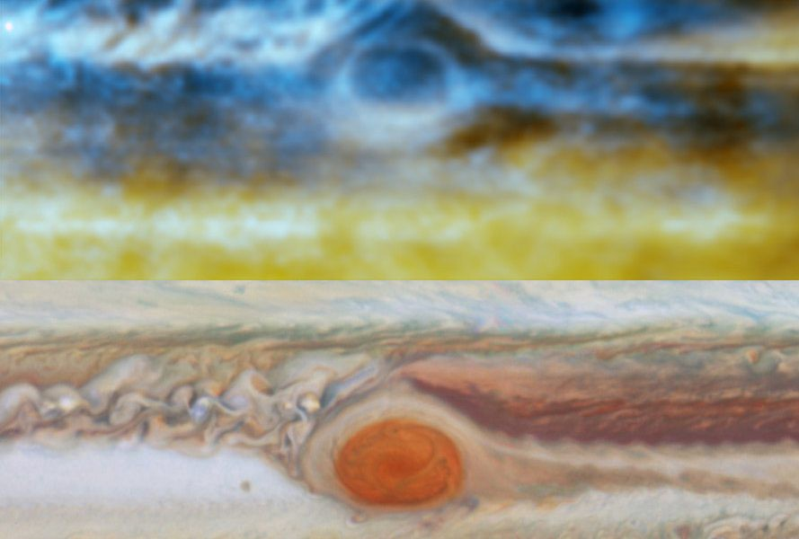 Spying Deep Inside the Storms of Jupiter - The Cosmic