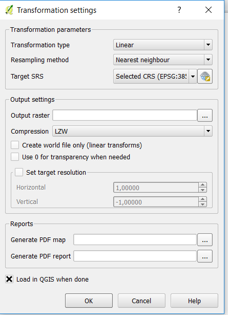 Qgis Change Raster Values