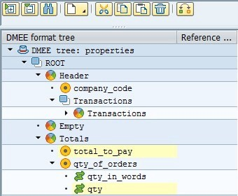 Deep structure in sap abap