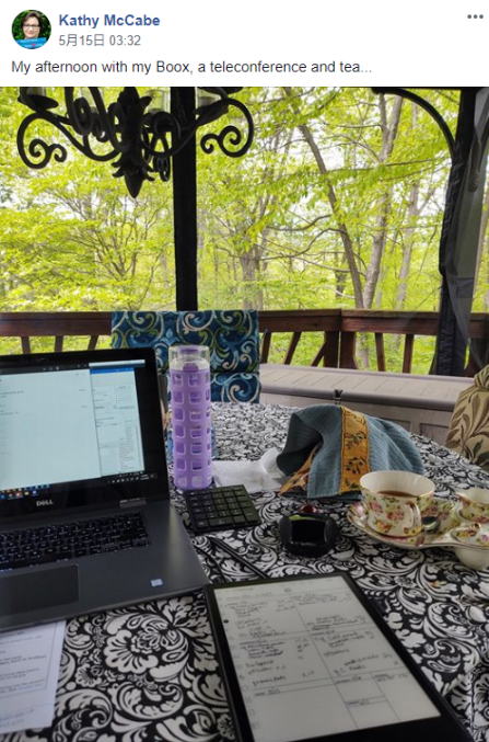 Kathy-McCabe-uses-boox-to-take-notes-with-teleconference
