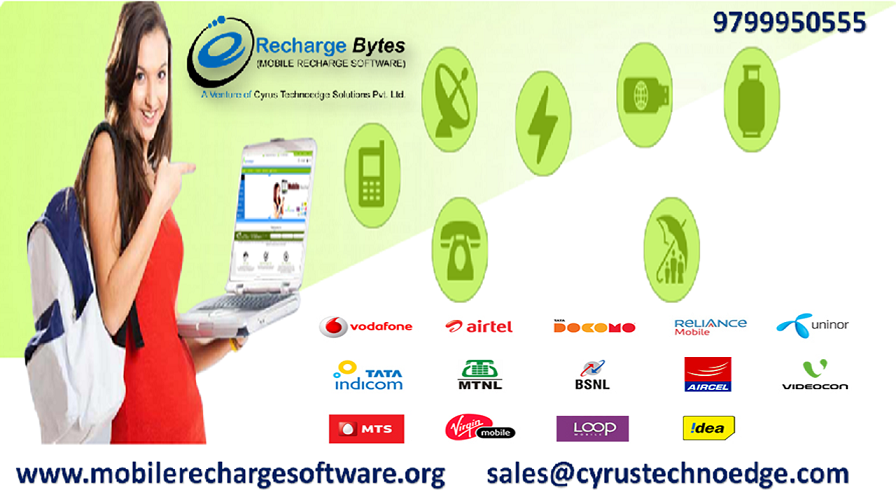 Get Online Mobile & DTH Recharge Software for Business