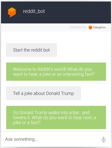 Chatbots With Google DialogFlow: Build a Fun Reddit Chatbot in 30