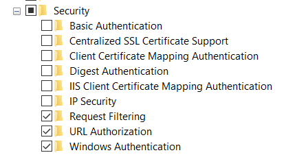 Windows Authentication with  NET Core API and Angular on IIS