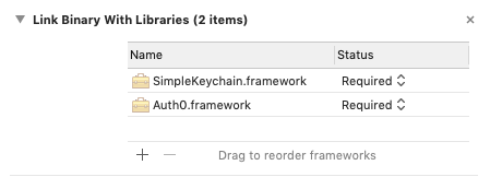 Adding a third party framework inside a first party framework in Xcode