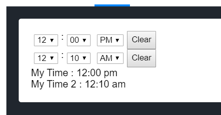 Coding a Custom Time Picker as a VueJS Component from Scratch