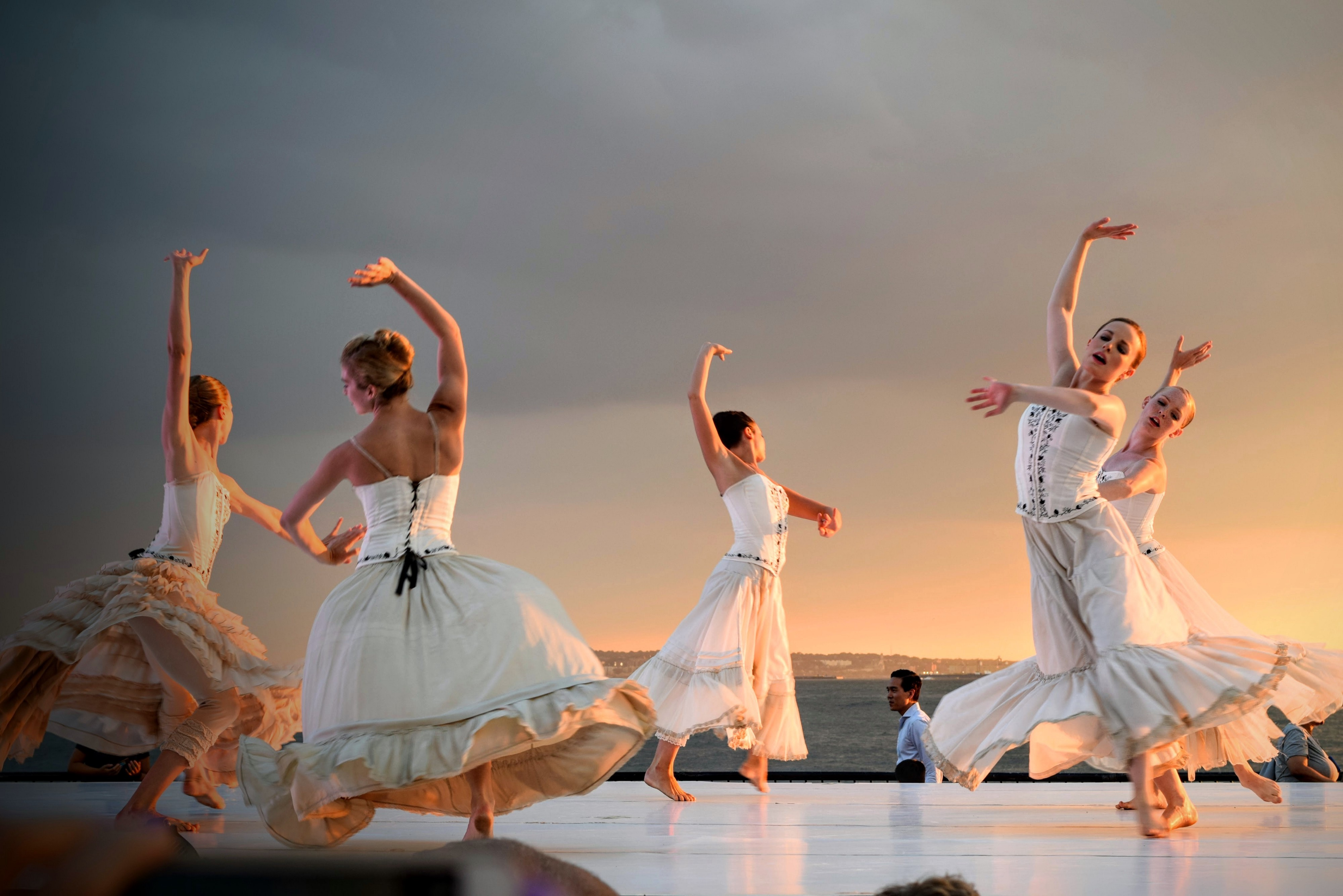 Quotes by Women—5 female dancer in white dresses