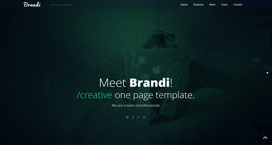 Single Page Website Template Html5 Free Download from miro.medium.com
