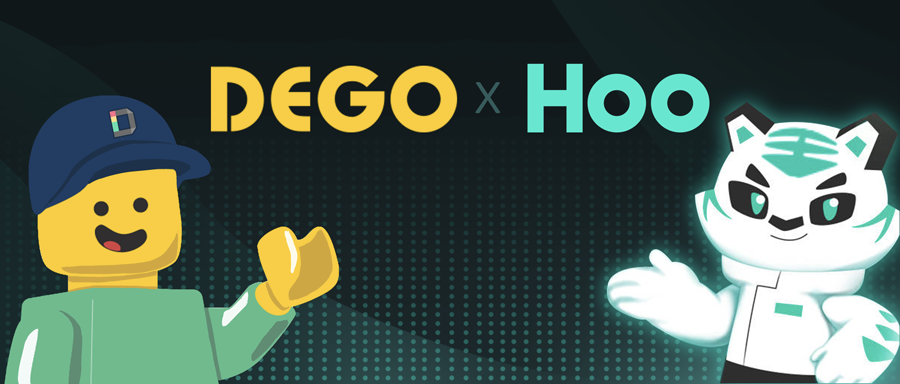 DEGO x HOO | Carrying out NFT Treasure-hunting Activity