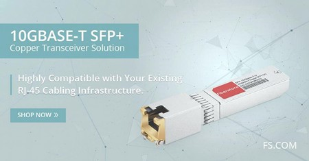 The Application of Cisco compatible 10GBASE-T Transceiver