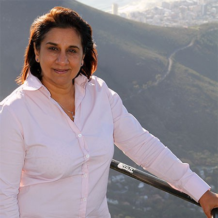 Wahida Parker, Managing Director of the Table Mountain Aerial Cableway Company