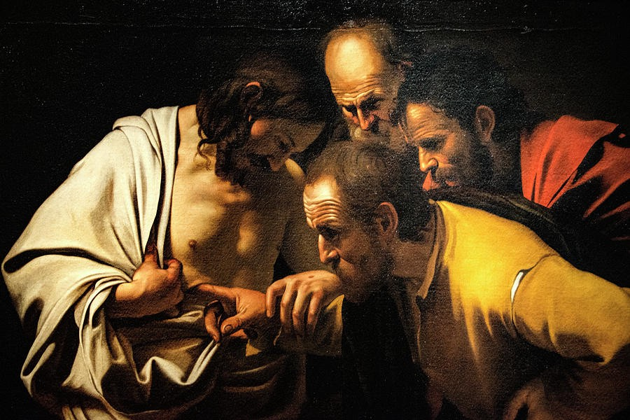 """The Story Behind… Incredulity. """"The Incredulity of Saint Thomas"""" by… 