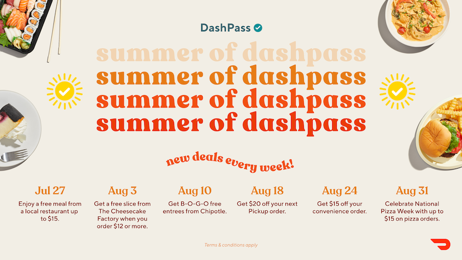 A DashPass Summer of Deals You Will Not Want to Miss | by DoorDash ...