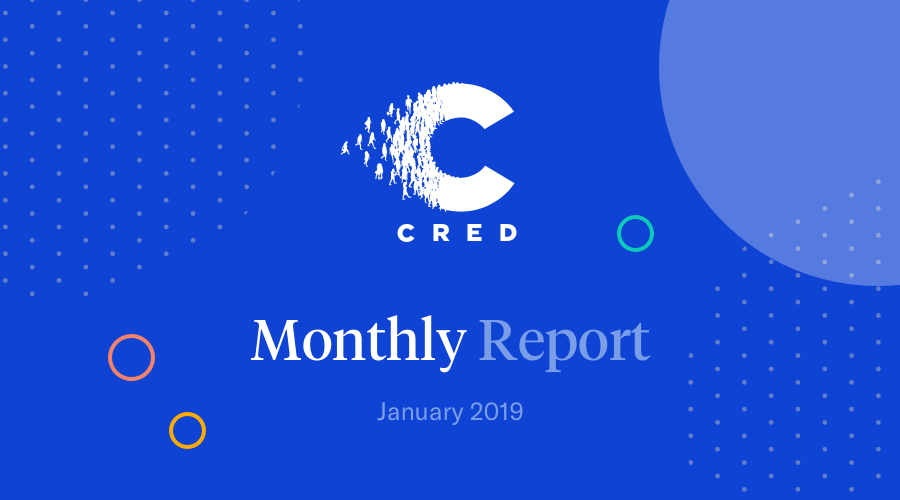 January 2019 Monthly Report Cred Medium