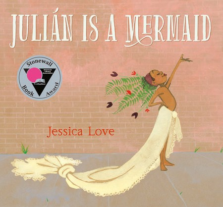 "book cover of ""Julián is a Mermaid"""