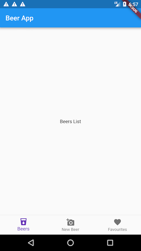 Bottom Navigation with a List Screen in Flutter - Brains