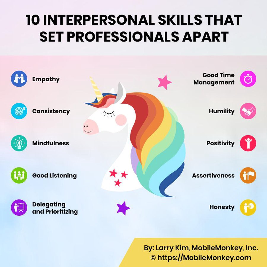 10 Interpersonal Skills that Set Professionals Apart