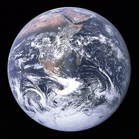 The Blue Marble source: Wikipedia