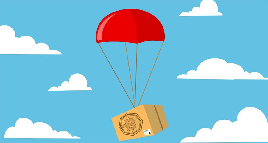 crypto airdrop how to explained