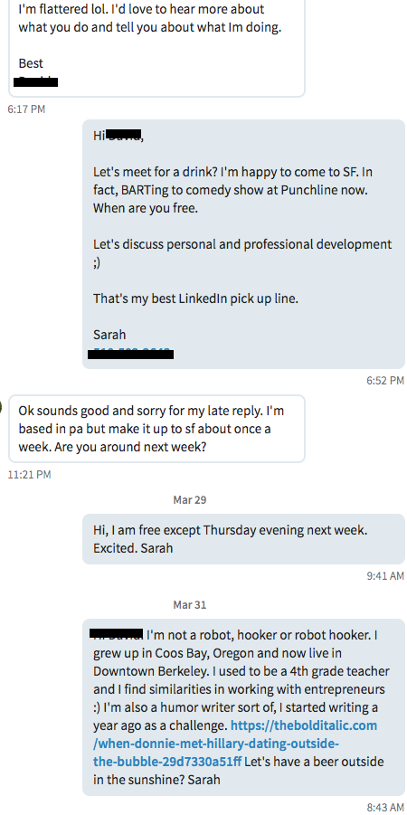 I Used LinkedIn as a Dating Site, and It Worked Better Than