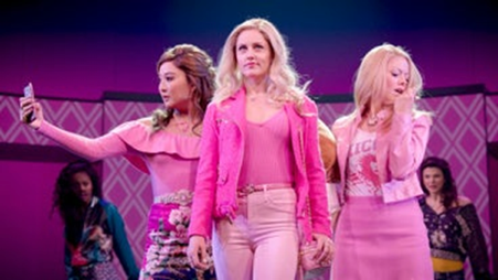 The Plastics in action (Mean Girls On Broadway)