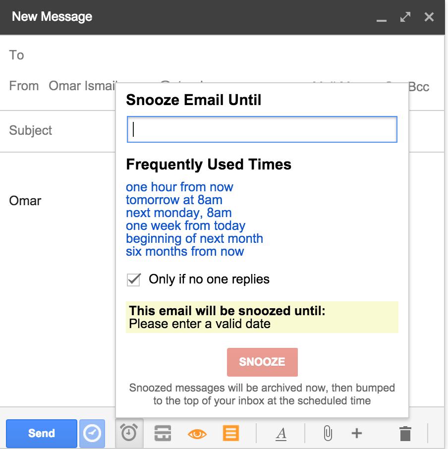 Introducing Email Snooze - Streak
