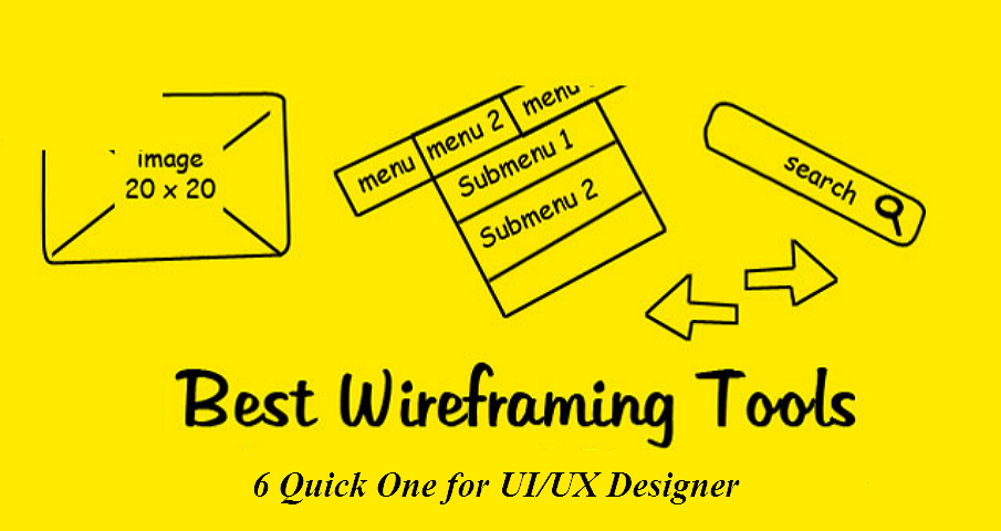 6 Free Quick Wireframe Tools For Ui Ux Designers In 2019