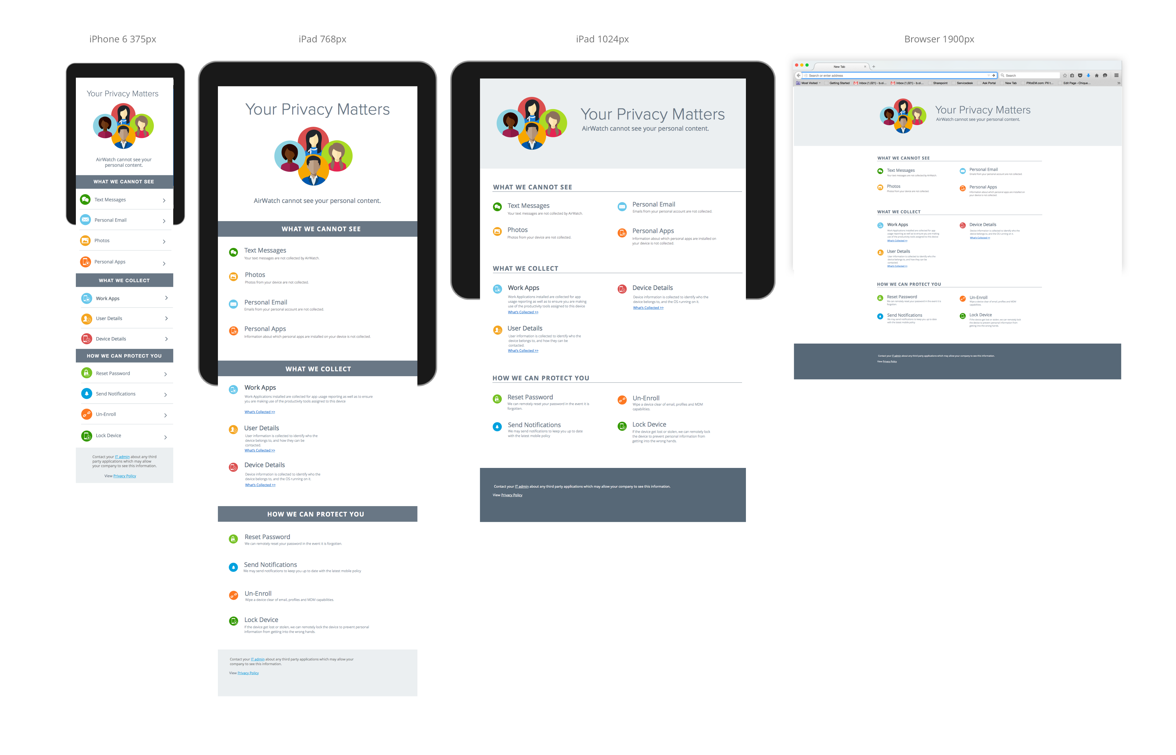 Redesigning the VMware AirWatch Privacy Policy - VMware User