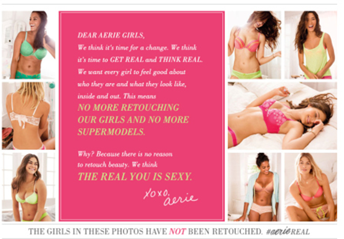 Aerie Real Campaign Body Positive Or Body Shaming
