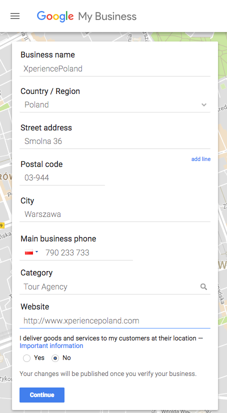 how to setup your google my business page for local seo