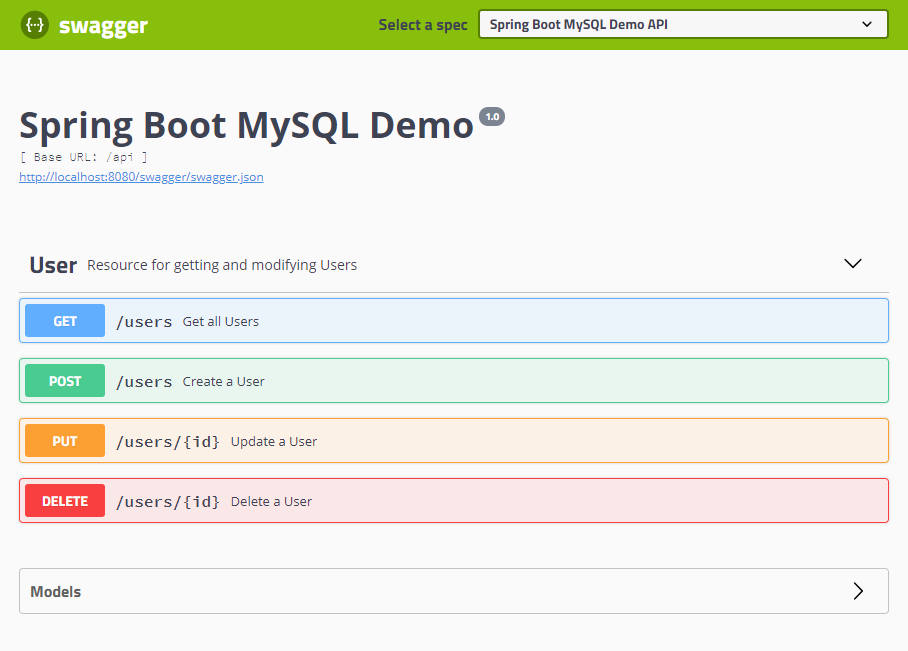 Creating an API with Spring Boot and MySQL: Part 4 - Adam