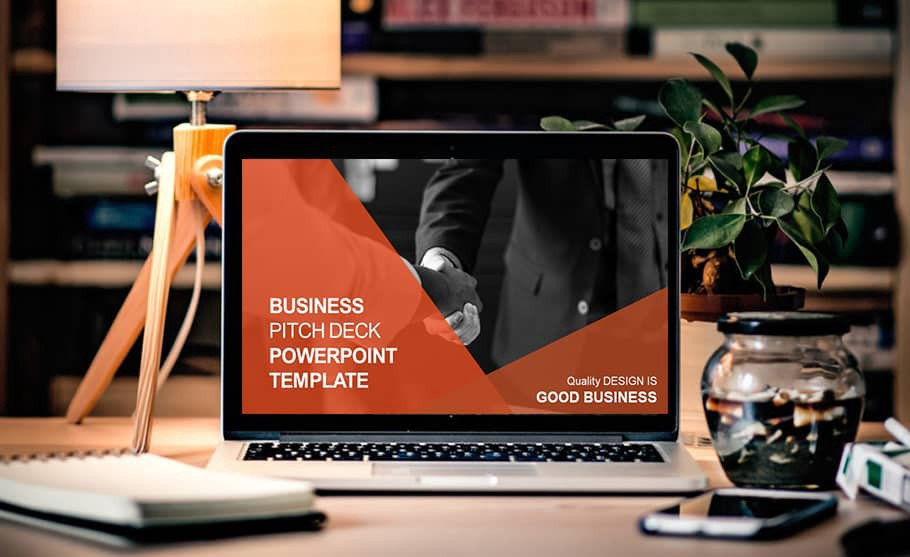 Amazing Business Pitch Deck Powerpoint Template