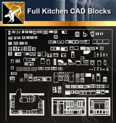 Architecture CAD Drawings】- CAD Blocks,Details,3D Models