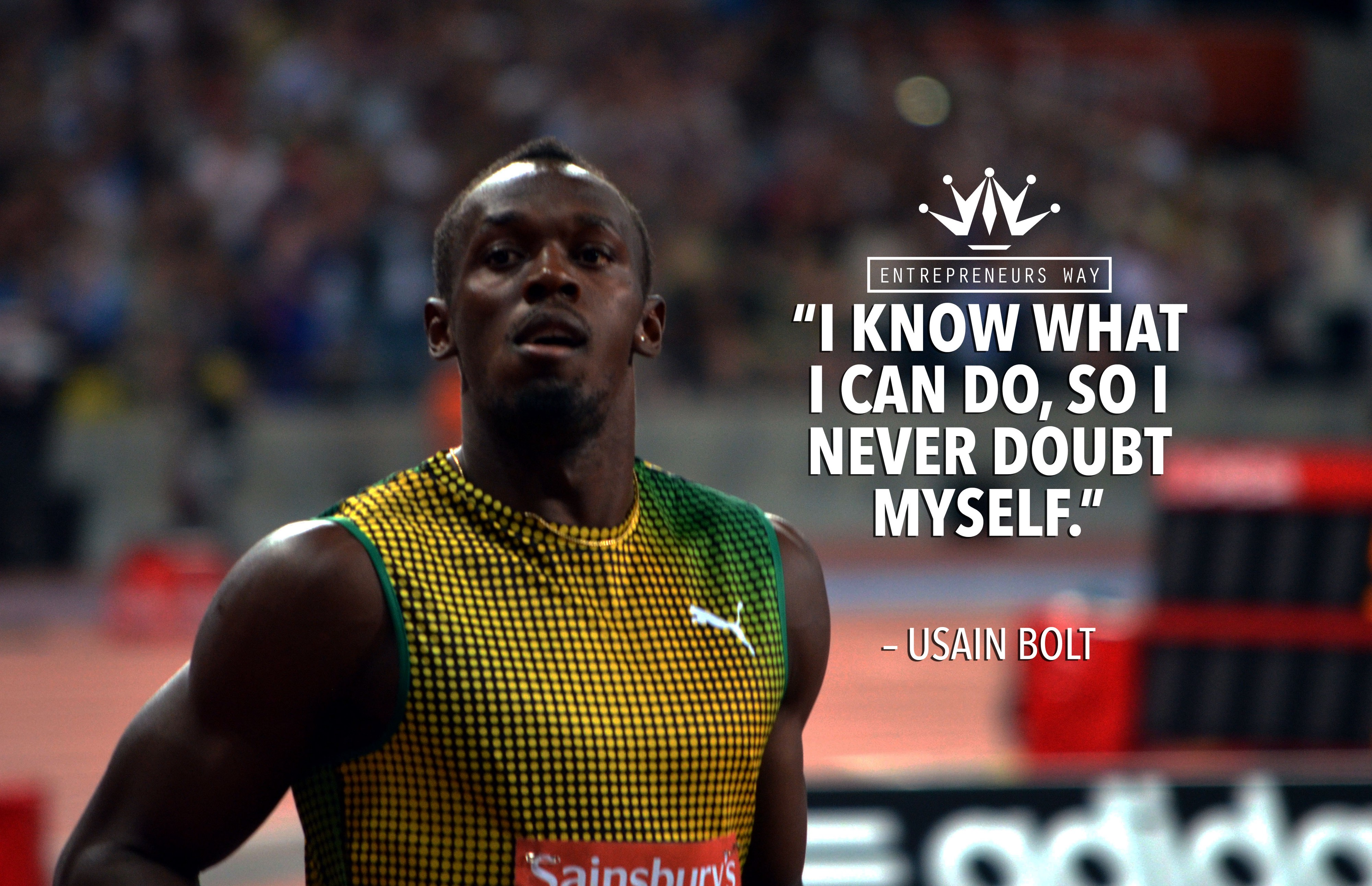25 Motivational Quotes By Usain Bolt By Entrepreneurs Way Medium