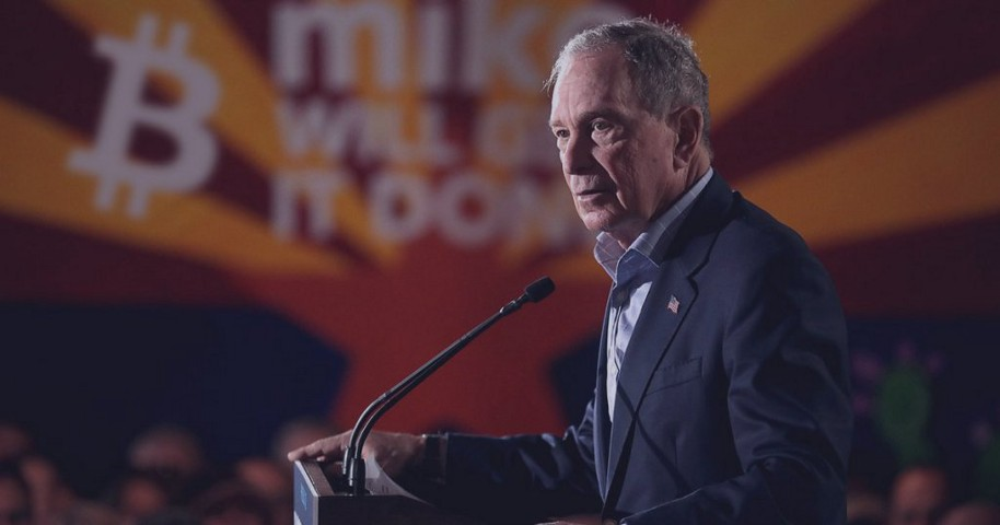 Mike Bloomberg Would Clamp Down Hard on the Crypto Industry