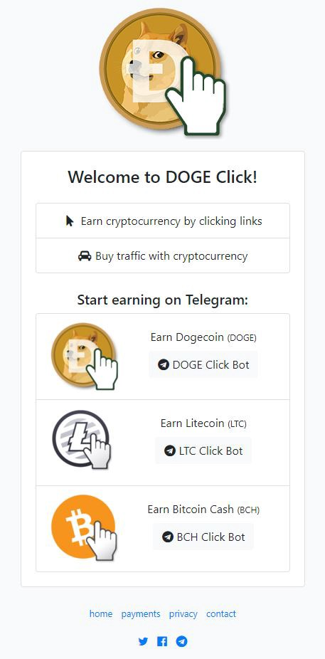 Telegram Bot let you Earn BITECOIN CASH Crypto by completing simple