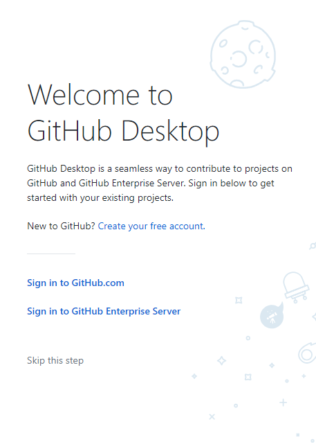 githb desktop welcomes you!