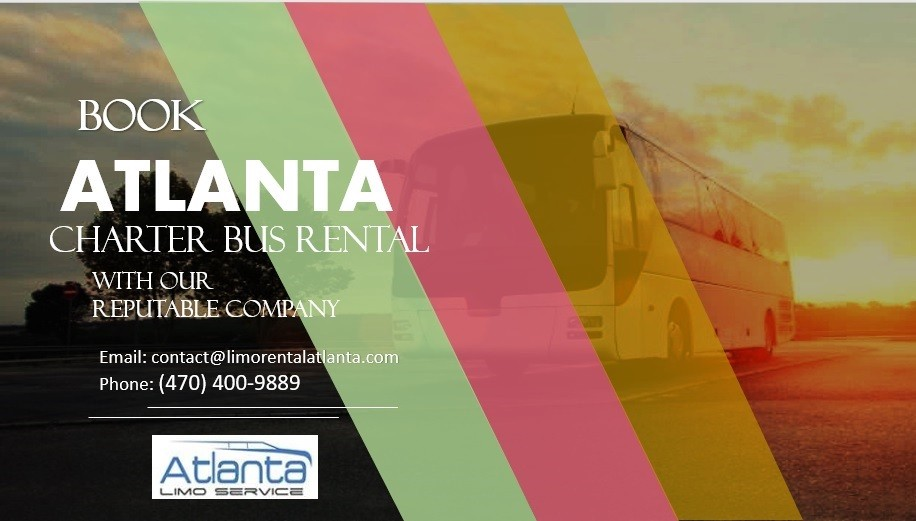 Book Atlanta Charter Bus Rental with Our Reputable Company