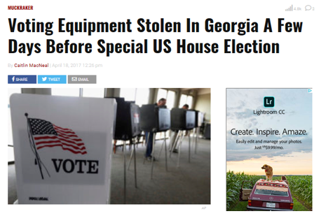 Georgia: The Epicenter of America's Corrupted Electronic
